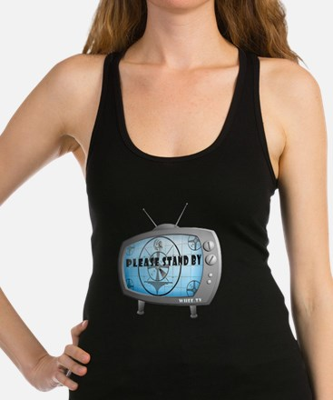 Please Stand By TV Racerback Tank Top