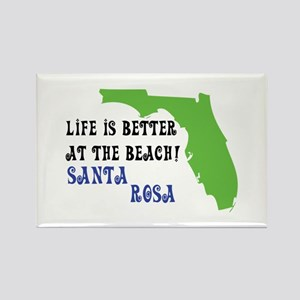 Life is better at the beach Santa Rosa. Magnets