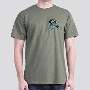 Skooter Fishface Dark T-Shirt