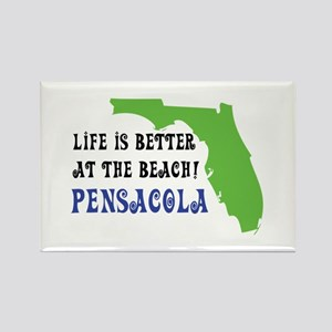 Life is better at the beach Pensacola. Magnets