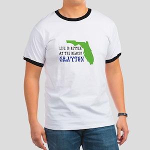 Life is better at the beach Grayton Beach T-Shirt