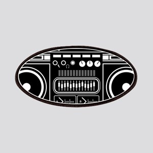 Boombox Tape Double Cassete Music Player Jum Patch