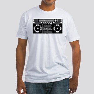Boombox Tape Double Cassete Music Player J T-Shirt