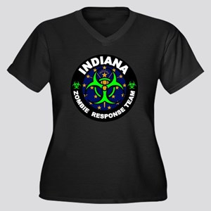 Indiana Zombie Response Team Gre Plus Size T-Shirt