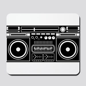 Boombox Tape Double Cassete Music Player Mousepad