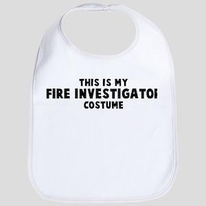 Fire Investigator costume Bib