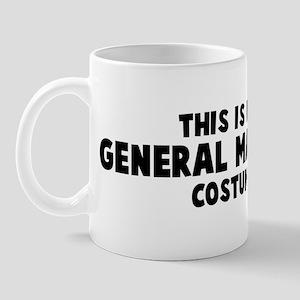 General Manager costume Mug