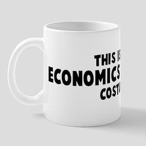Economics Teacher costume Mug