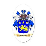 McShanly Oval Car Magnet