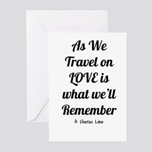 Love's what we'll remember- A Choru Greeting Cards