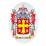 McScally Oval Ornament