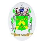McRobin Oval Ornament