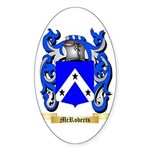 McRoberts Sticker (Oval 10 pk)
