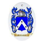 McRobert Oval Ornament
