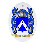 McRobb Oval Ornament