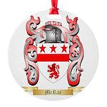 McRae Round Ornament