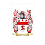 McRae Sticker (Rectangle 50 pk)