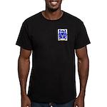 McQuinney Men's Fitted T-Shirt (dark)