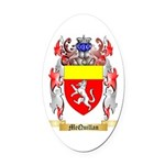 McQuillan Oval Car Magnet