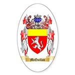 McQuillan Sticker (Oval)