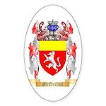 McQuillan Sticker (Oval 50 pk)