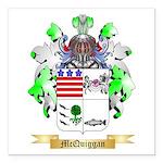 McQuiggan Square Car Magnet 3