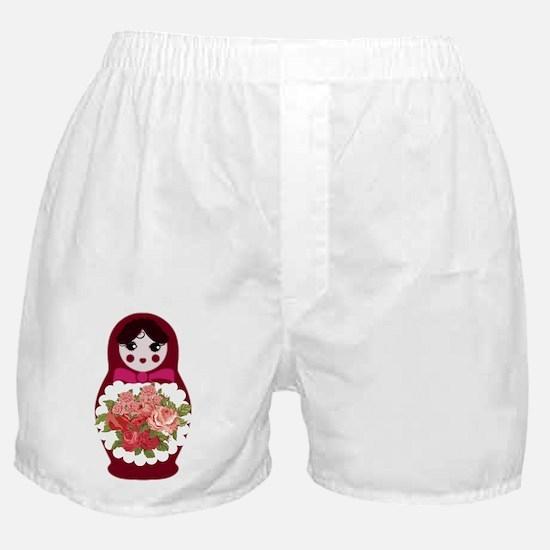 Cute Russia doll Boxer Shorts