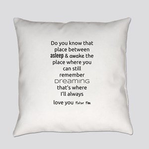 I'll Always Love You - Peter Pan Everyday Pillow