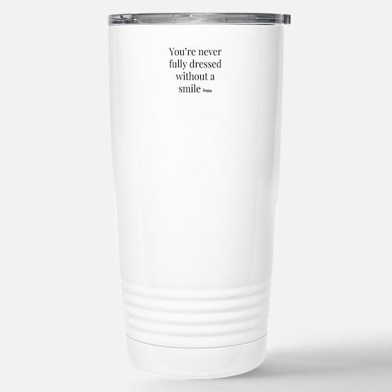 Smile - Annie Stainless Steel Travel Mug