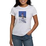 Snowman Women's Classic White T-Shirt