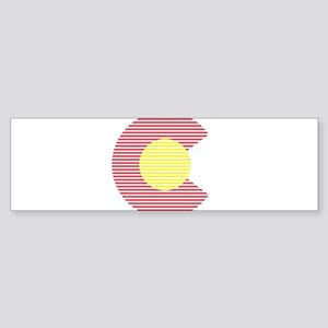 colorado c Bumper Sticker