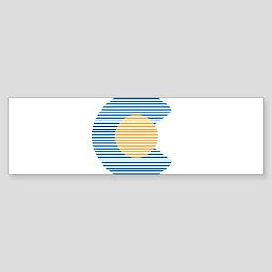 colorado circle Bumper Sticker