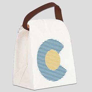 colorado circle Canvas Lunch Bag