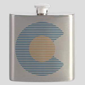 colorado circle Flask