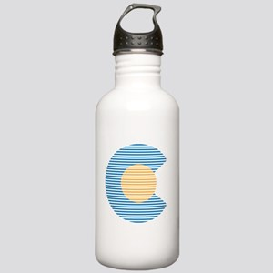 colorado circle Water Bottle