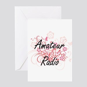 Amateur Radio Artistic Design with Greeting Cards