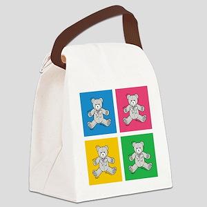 CUDDLY BEARS Canvas Lunch Bag