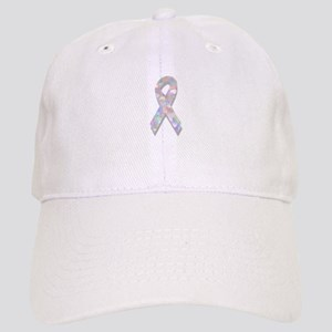 pearl lung cancer ribbon Cap