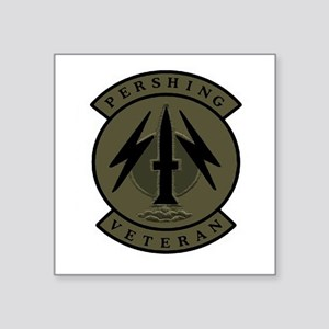 "Pershing Veteran (subdued) 3"" X Sticker"