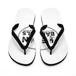 Egon Barthels Logo Flip Flops