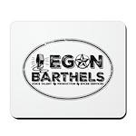 Egon Barthels Logo Mousepad