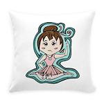 littleanimeballerina Everyday Pillow