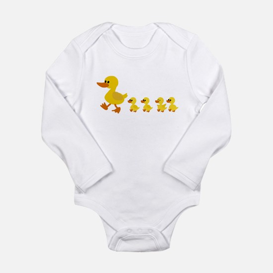 Baby duck family Body Suit