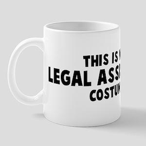 Legal Assistant costume Mug