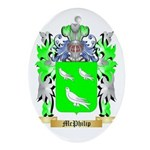McPhilip Oval Ornament