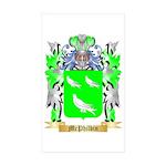 McPhilbin Sticker (Rectangle 50 pk)