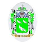McPhilbin Oval Ornament