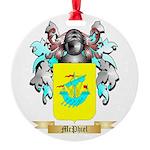 McPhiel Round Ornament