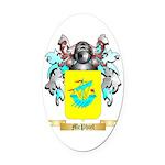 McPhiel Oval Car Magnet