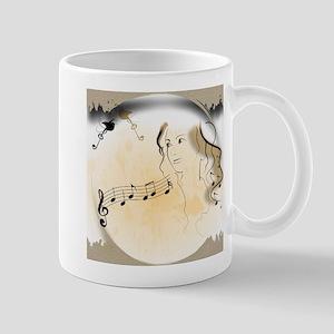 Music girl Mugs